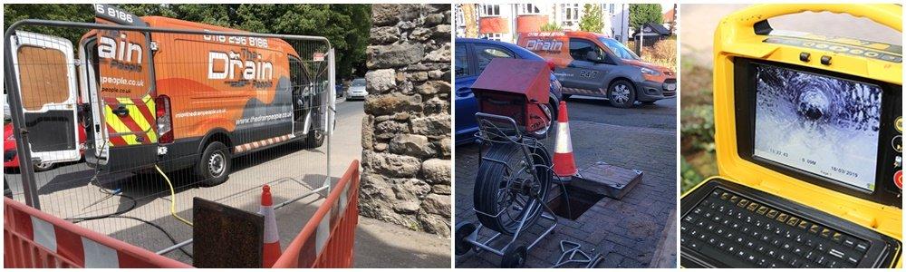 CCTV Drain Survey - Leicester - Nottingham - Derby - Hinkley - Chesterfield
