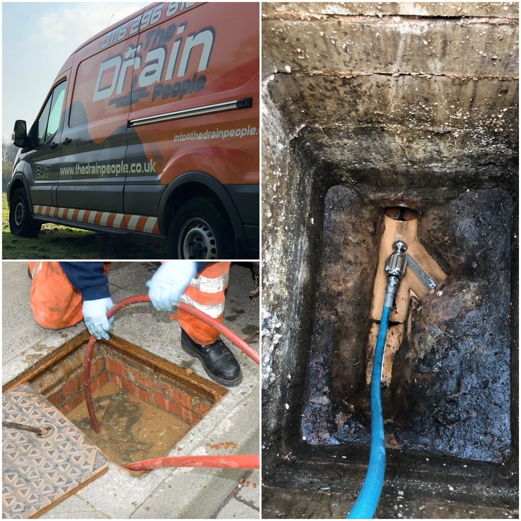 For Blocked Drains or Sinks - Call 'The Drain People'