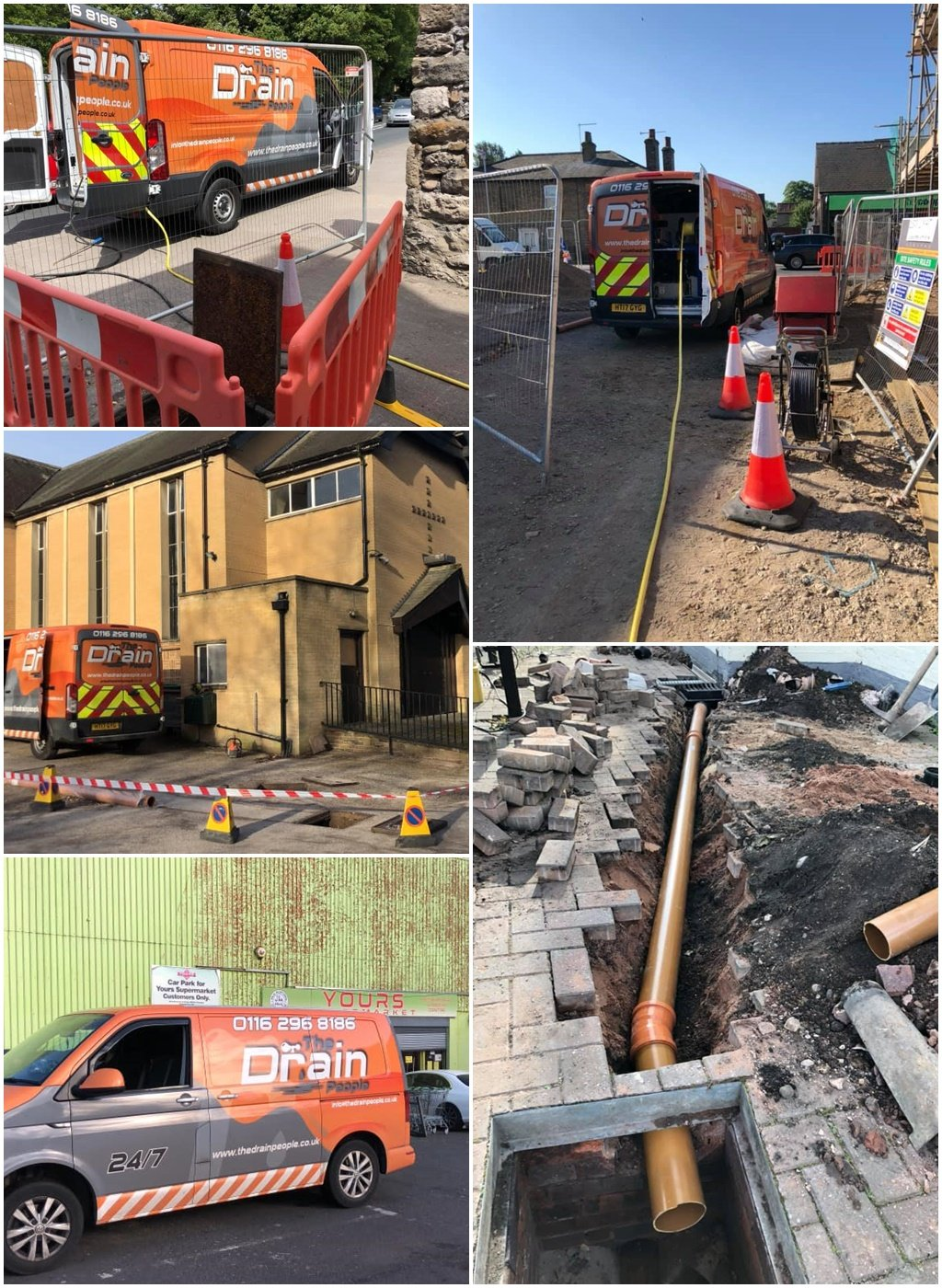 Commercial Drainage Solutions, Leicester, Nottingham and the East Midlands
