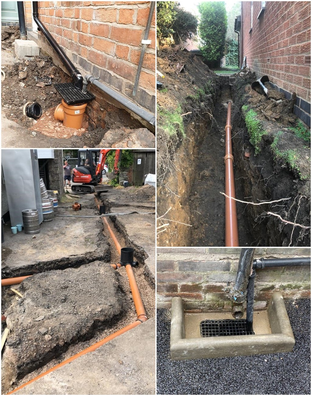 Drain Installation - Leicester, Nottingham and the East Midlands