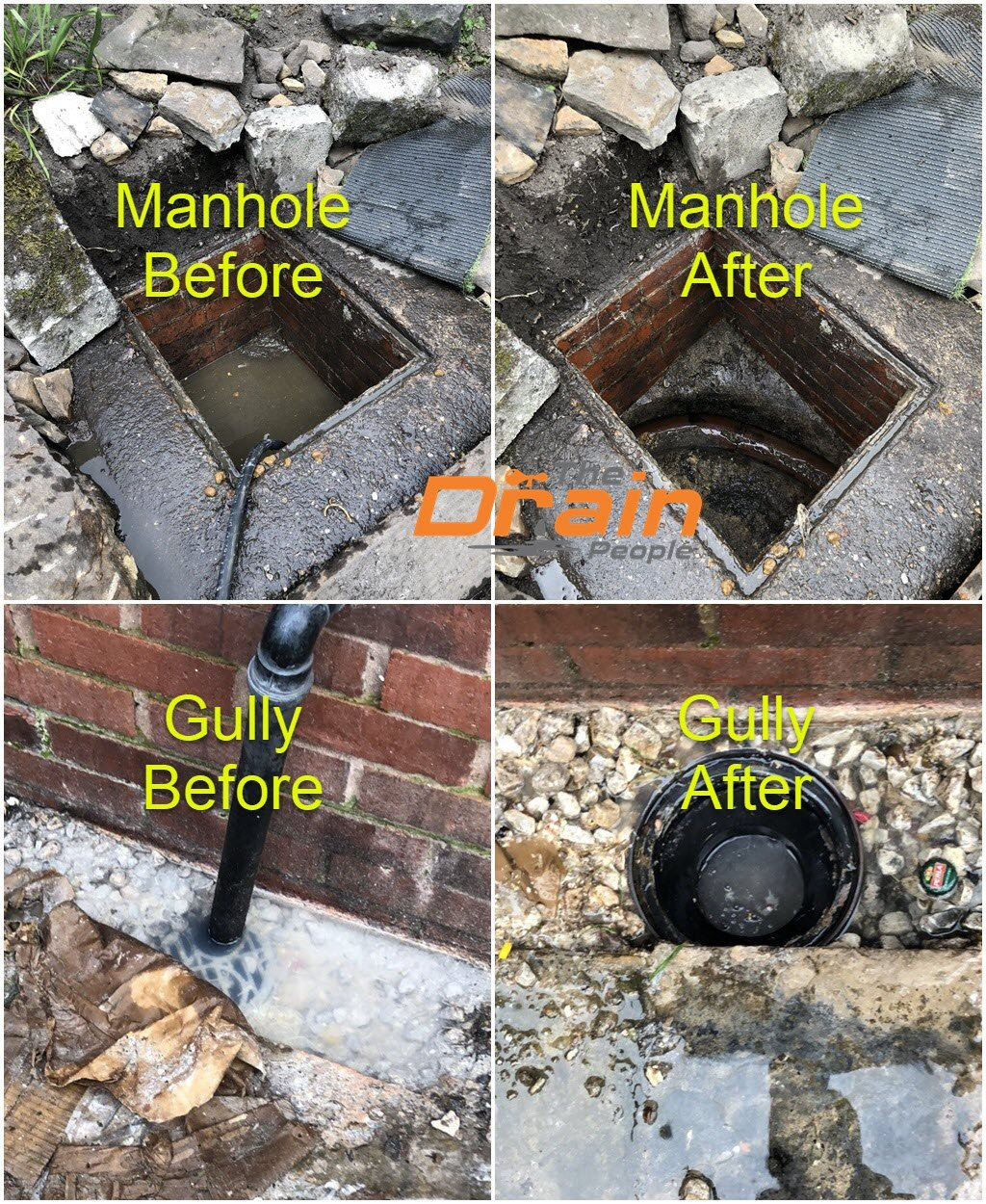 We unblock Manholes & Gullies in Leicester, Nottingham & all the East Midlands
